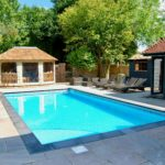 Brand new swimming pool East Sussex